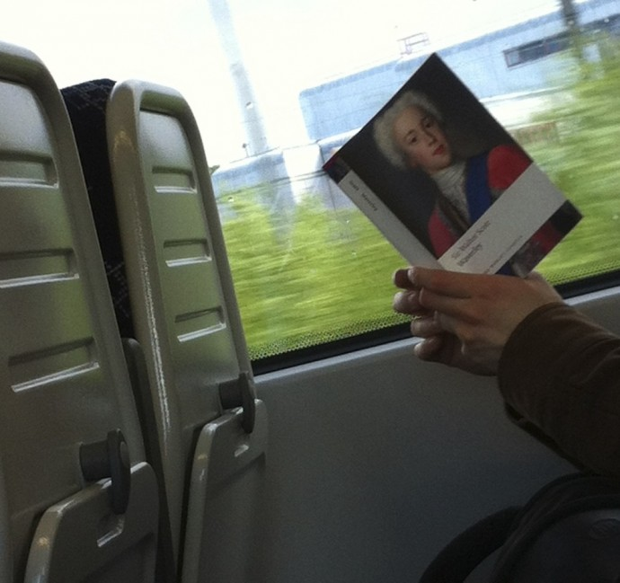 Waverley, by the Same Author. Photographed in the wild, on the 1806 to Gourock, 22 May 20—
