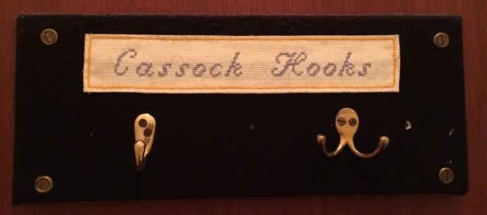 Cassock Hooks