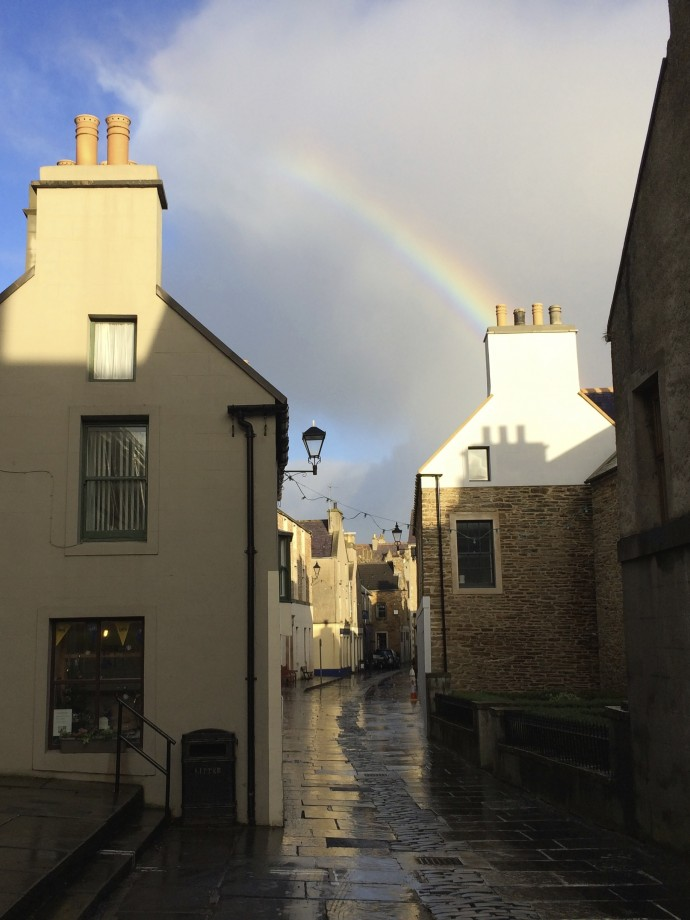 Rainbow in Stromness